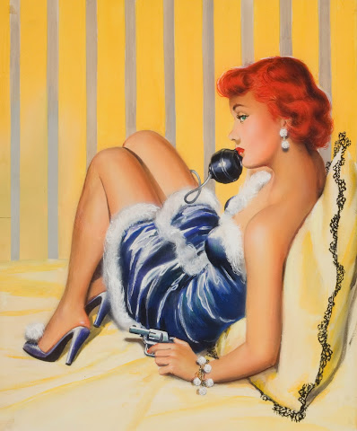 pin up illustration