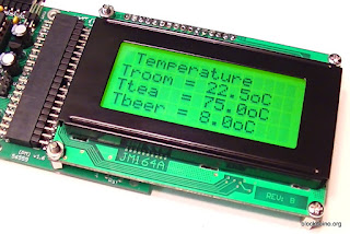 Вывод температуры датчиков DS18B20 на LCD ЖКИ