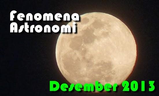 Wajib Lihat! Daftar Fenomena Astronomi Desember 2013
