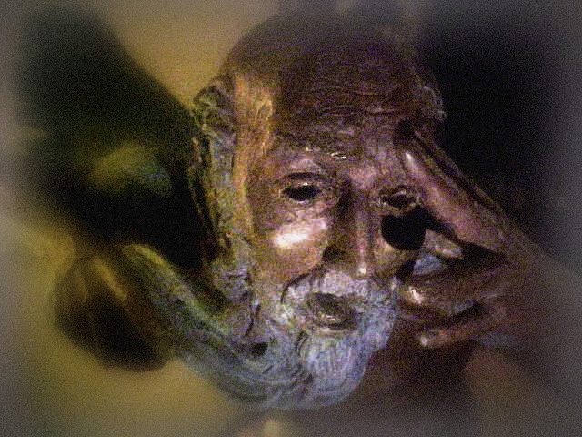 King Lear by Barry Woods Johnston, Sculpture Detail (click on image)