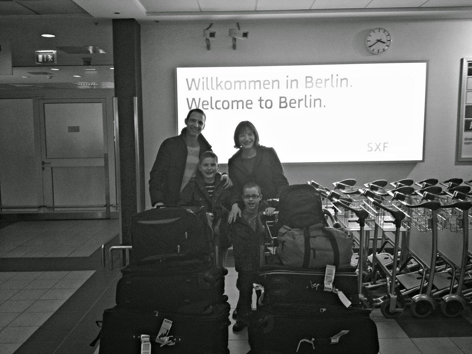 First days in Berlin