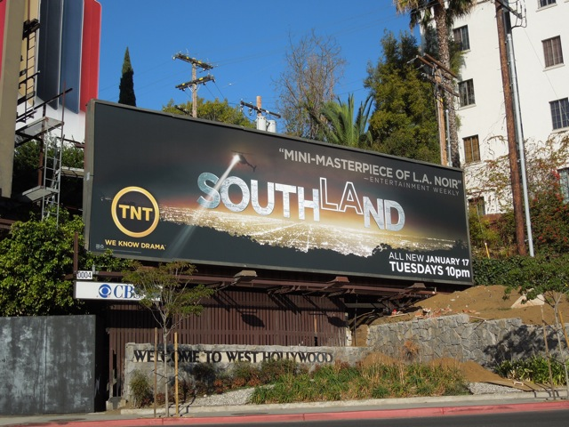 Southland season 4 TV billboard