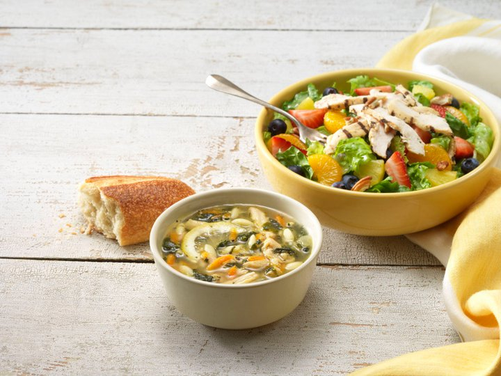 Panera Bread Restaurant Copycat Recipes: Lemon Chicken Orzo Soup