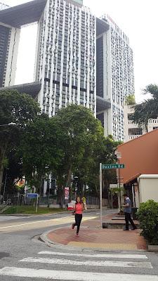 One Saturday afternoon at Duxton Hill Tanjong Pagar Singapore