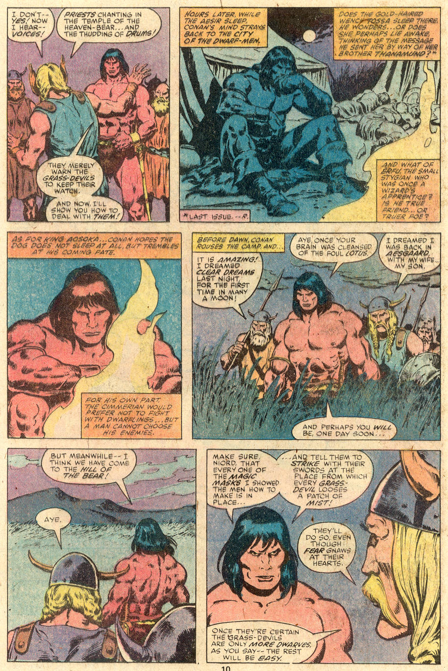 Conan the Barbarian (1970) Issue #112 #124 - English 7
