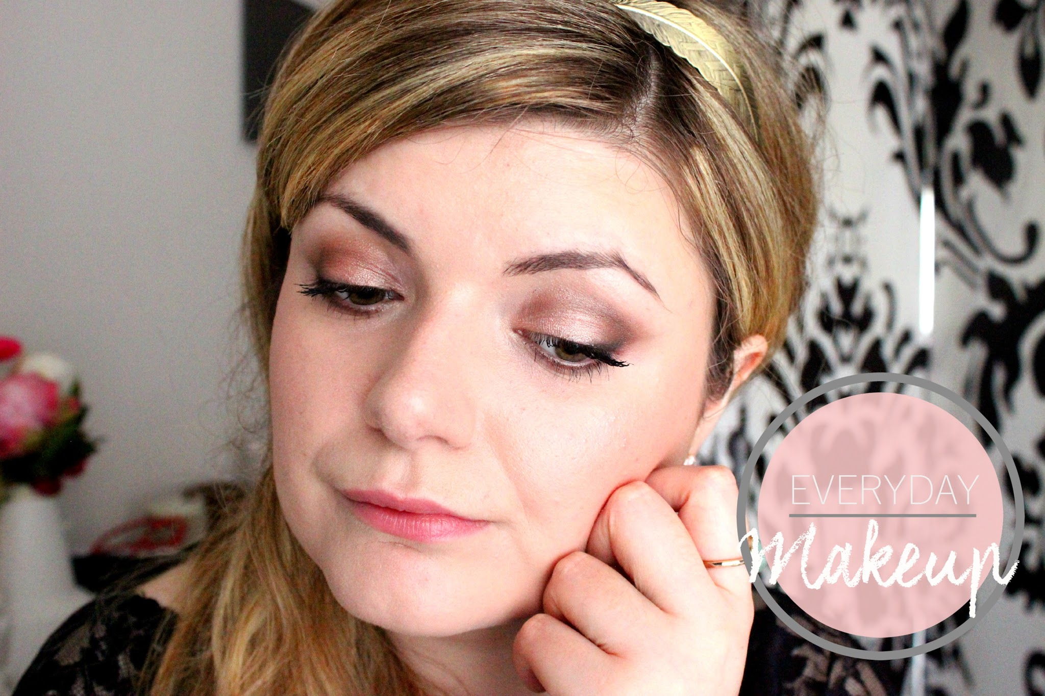 maquillage simple et facile pour tous les jours avec la chocolate bar de Too Faced