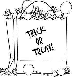 Fichas de Inglés para niños: Printables Trick or Treat