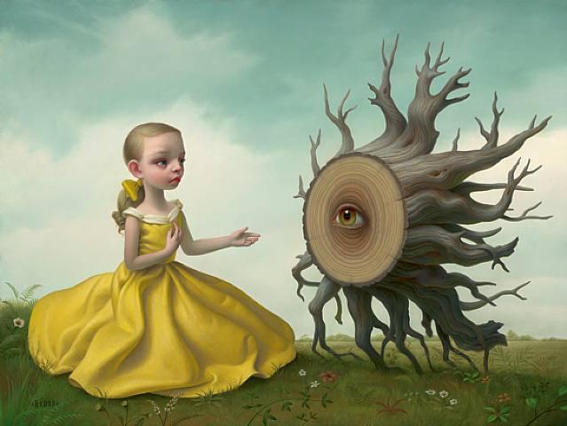 El arte Dark. Tree+by+mark+ryden+6