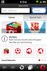 Opera mini mới nhất cho android