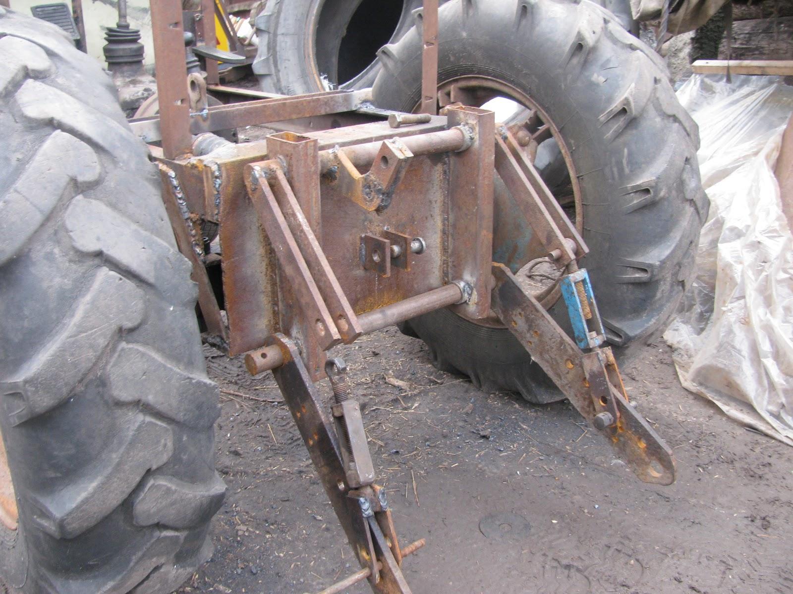 Как сделать трактор. - m 3
