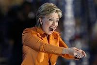 Хиллари Клинтон - Дебилизм в действии