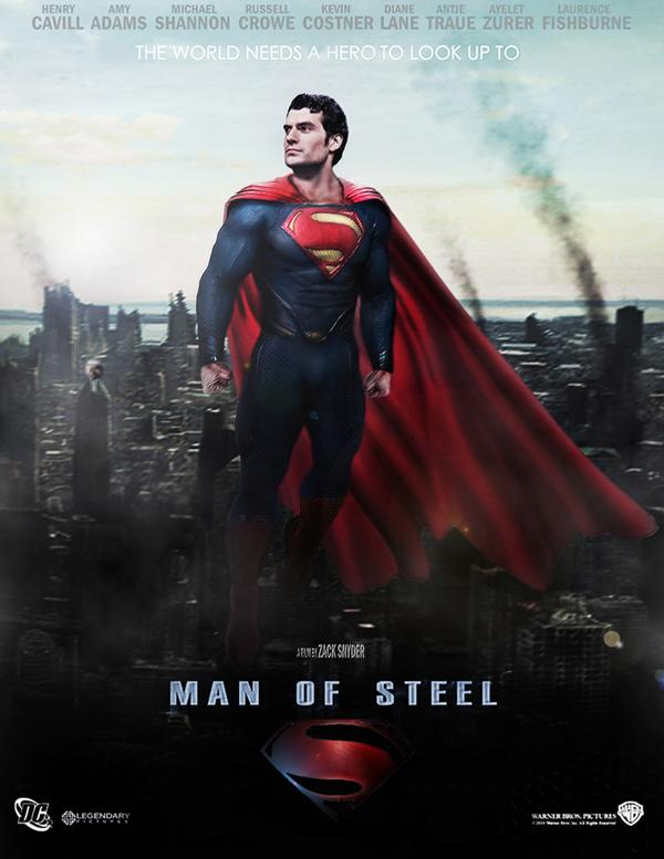 man of steel movie superman earth one