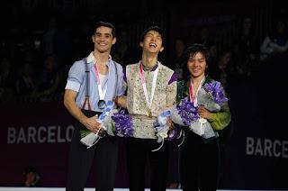 PATINAJE ARTÍSTICO - ISU Grand Prix Finals 2015: Hanyu campeón indiscutible por delante de Javier Fernández