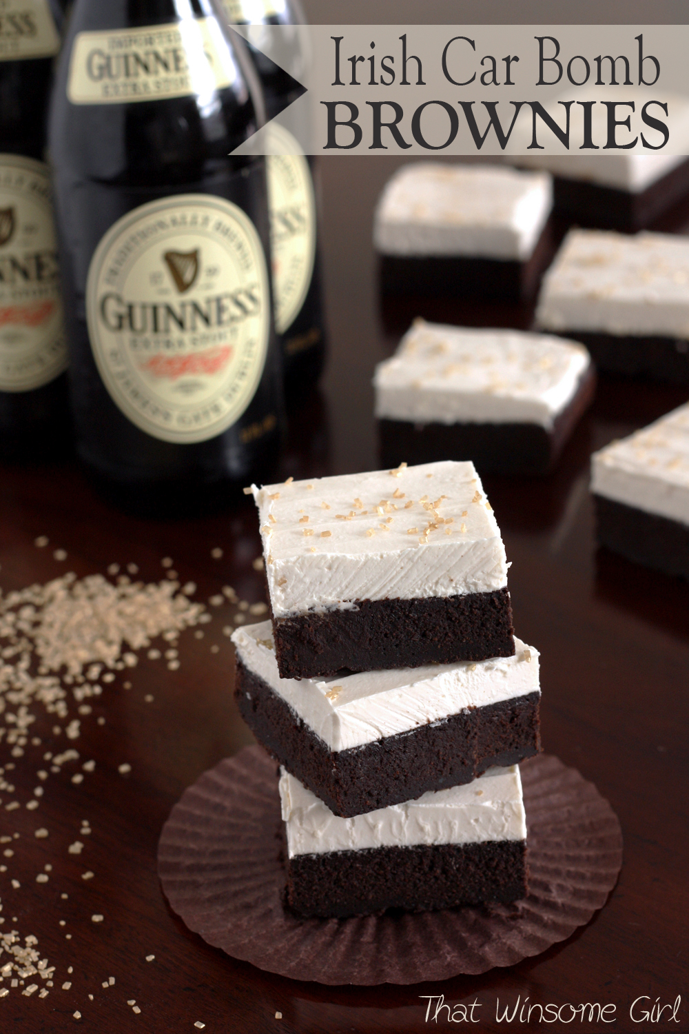 That Winsome Girl: Irish Car Bomb Brownies