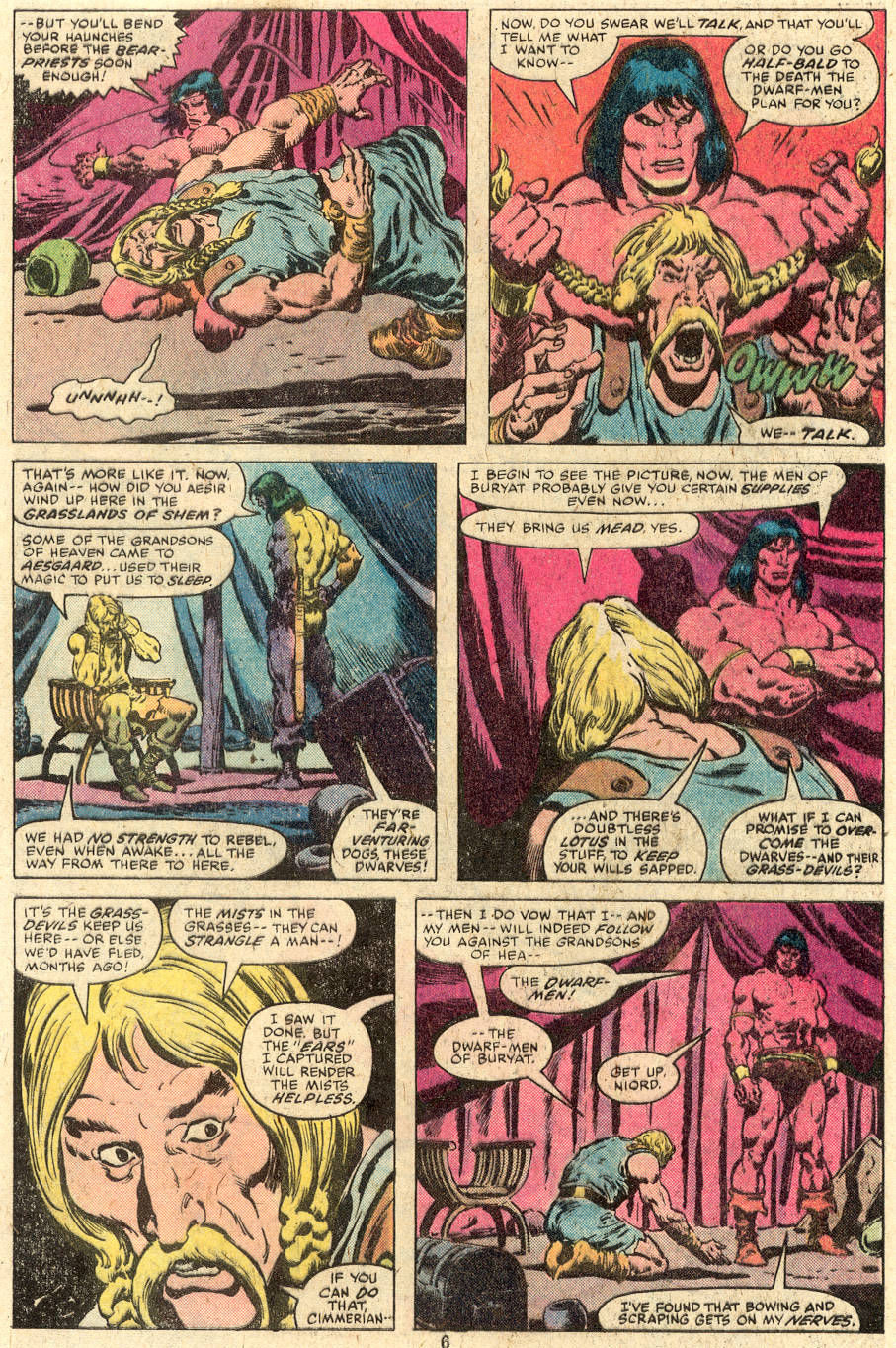 Conan the Barbarian (1970) Issue #112 #124 - English 5