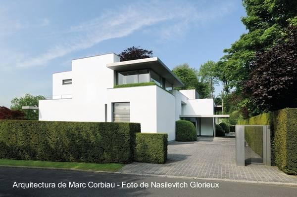 Casa moderna contemporánea europea