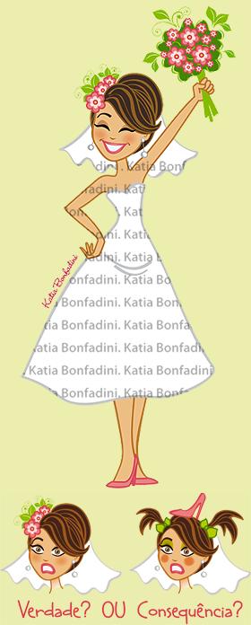 Ilustração para Despedida de Solteira/Chá de Panela
