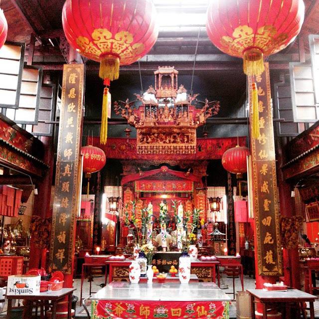 Sin Sze Si Ya Temple Kuala Lumpur