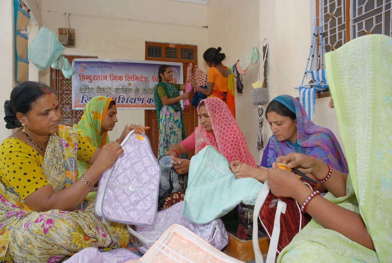 Tailoring Training at Sakhi Self Help Group