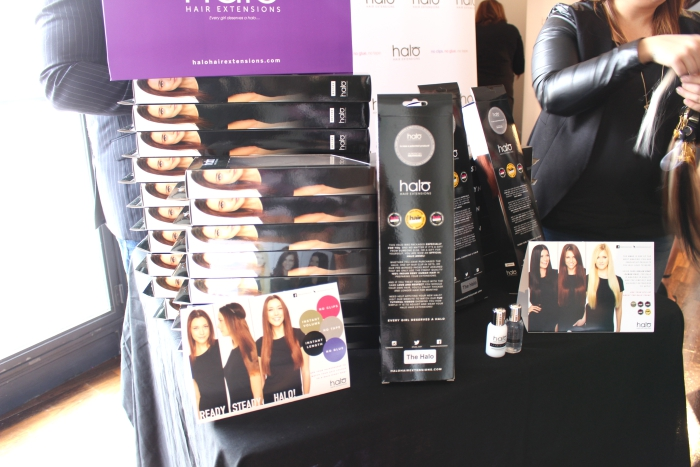 #BLFW 2015 Bloggers Love Bloggers Hangout Halo Hair Extensions