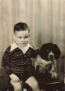 This is me with Casey, the Springer Spaniel we had when I was a kid. He was a biter, but never bit me. I was lucky, because I connected with him as my trusted friend