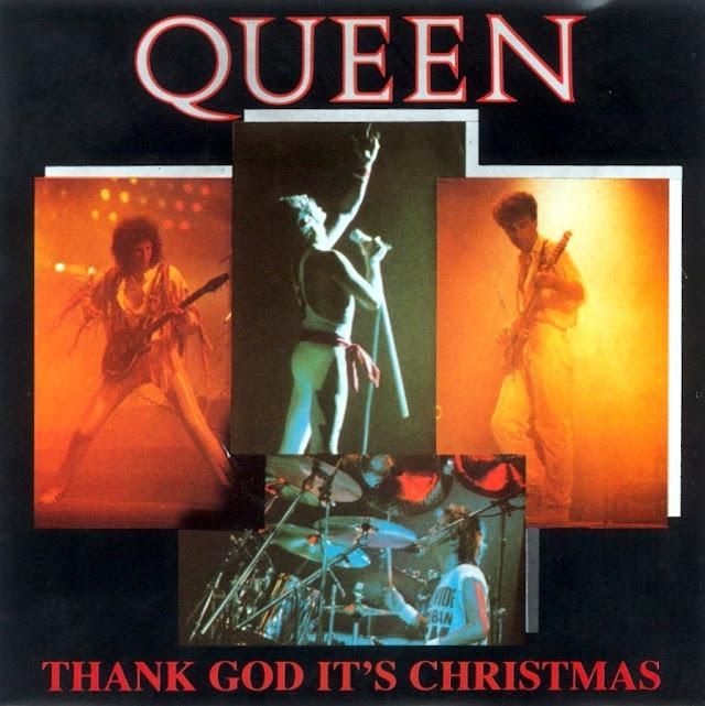 Portada del single Thank God It's Christmas de Queen