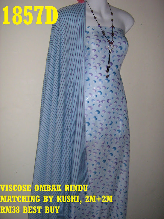 VOM 1857D: VISCOSE OMBAK RINDU MATCHING BY KUSHI, 2M+2M