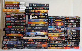 Star Wars books Skywalker Episode 7 geek EU