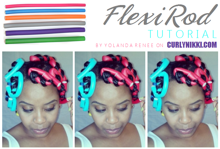 Outstanding Flexirod Tutorial For Big Curls Natural Hair Style Curlynikki Hairstyle Inspiration Daily Dogsangcom