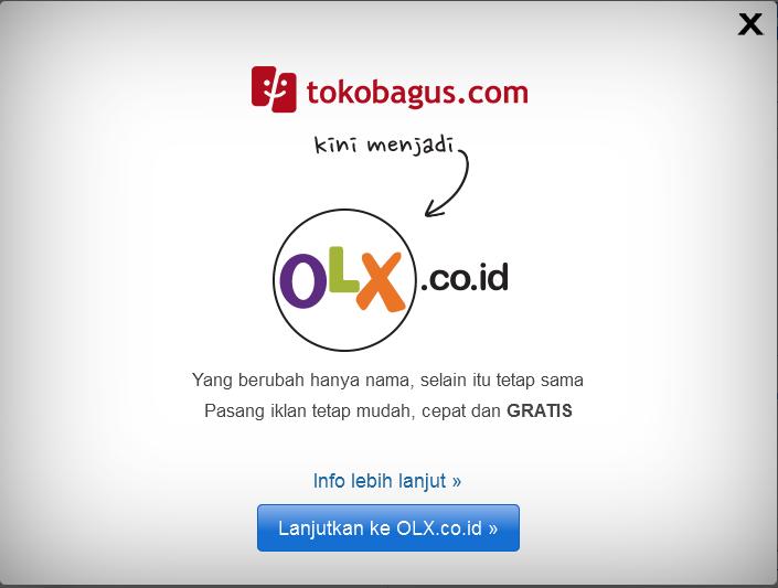 Toko Bagus Ganti Nama Menjadi OXL