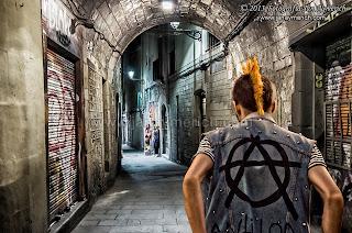 Composición fotográfica - El Gotic de Barcelona