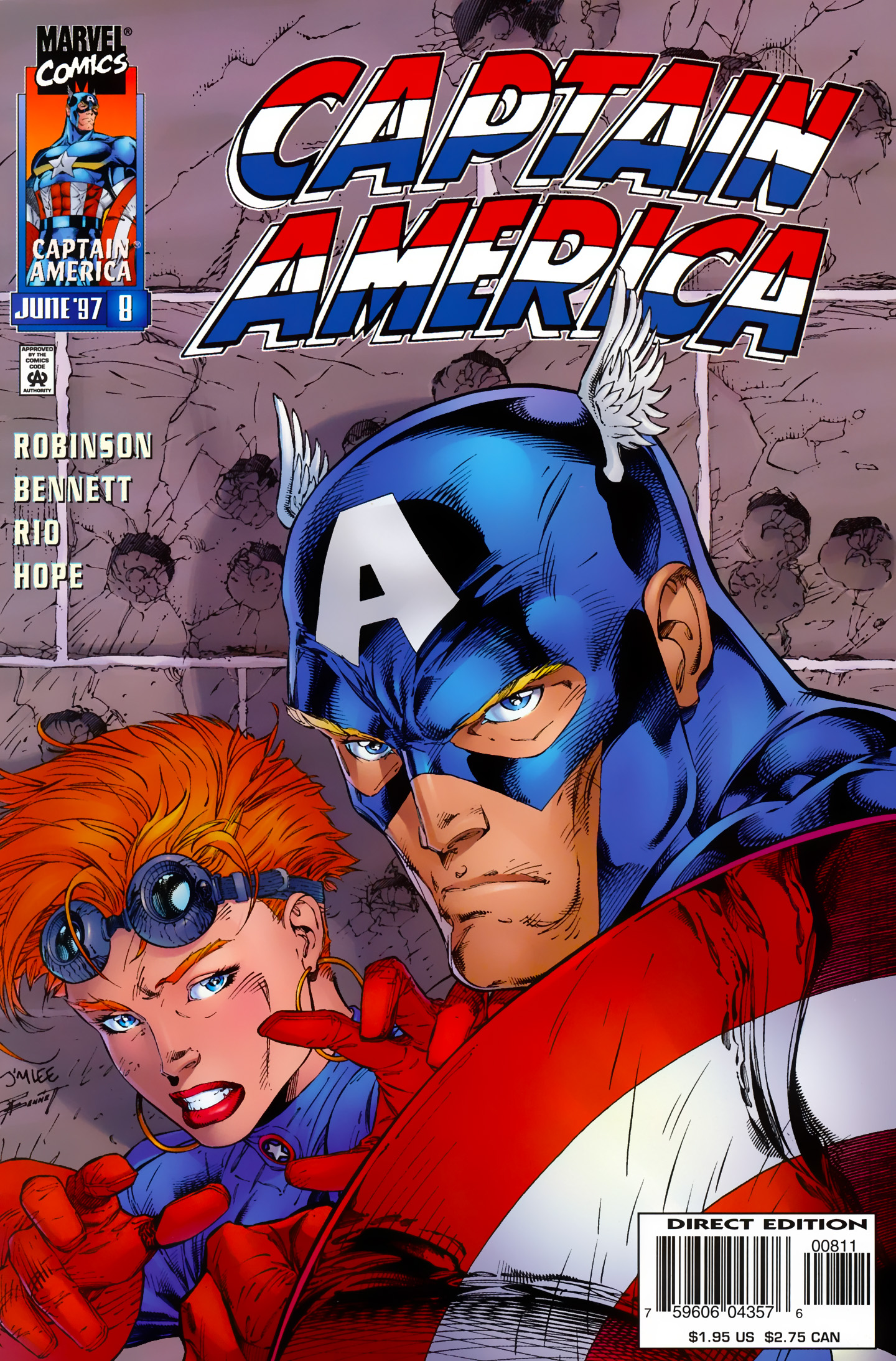Captain America (1996) Issue #8 #8 - English 1