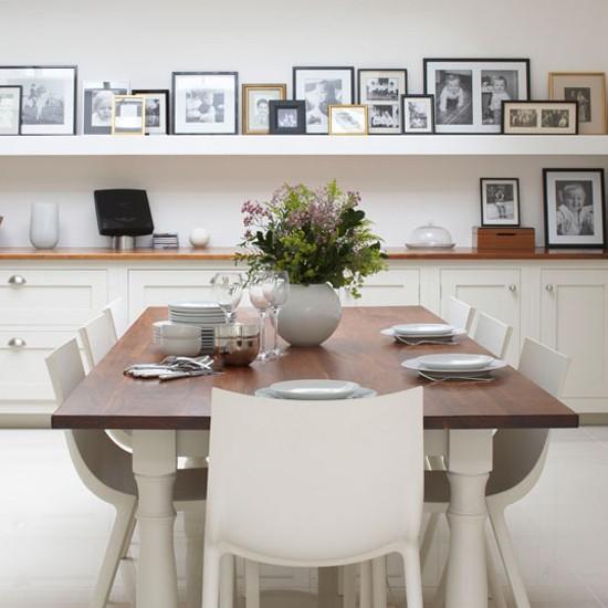 Quadros decorativos como escolher para a sala de jantar for Sala de estar rustica y moderna