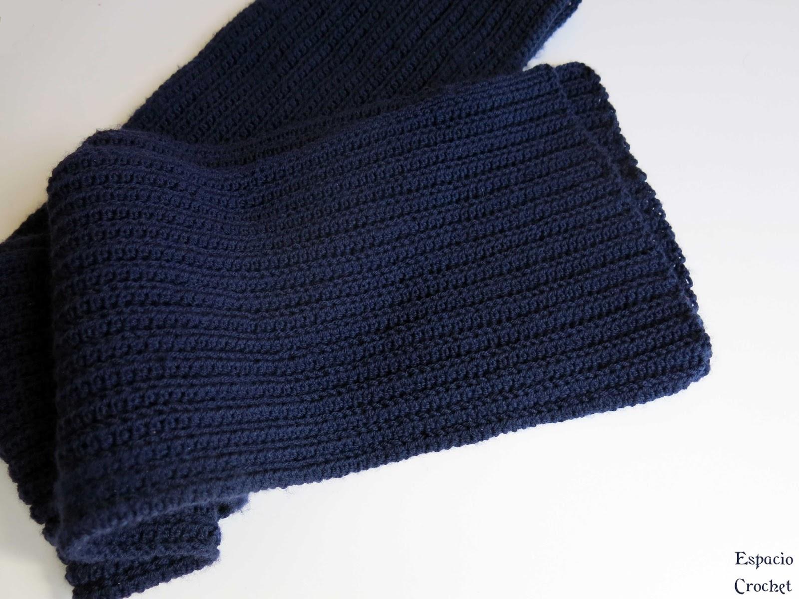 Bufanda para chico | Espacio Crochet