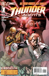 Cover of T.H.U.N.D.E.R. Agents #1 from DC Comics