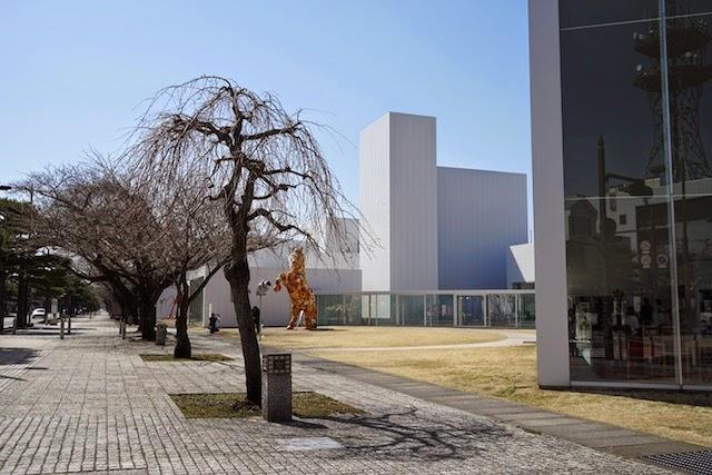 官公庁通り ー 十和田市現代美術館