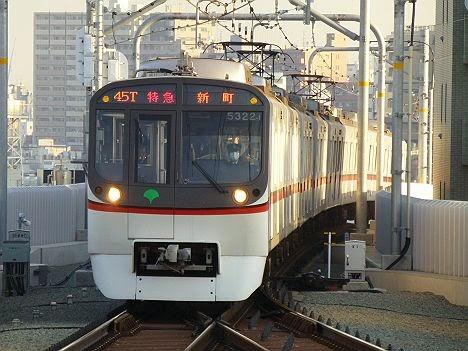 特急 神奈川新町行き5300形