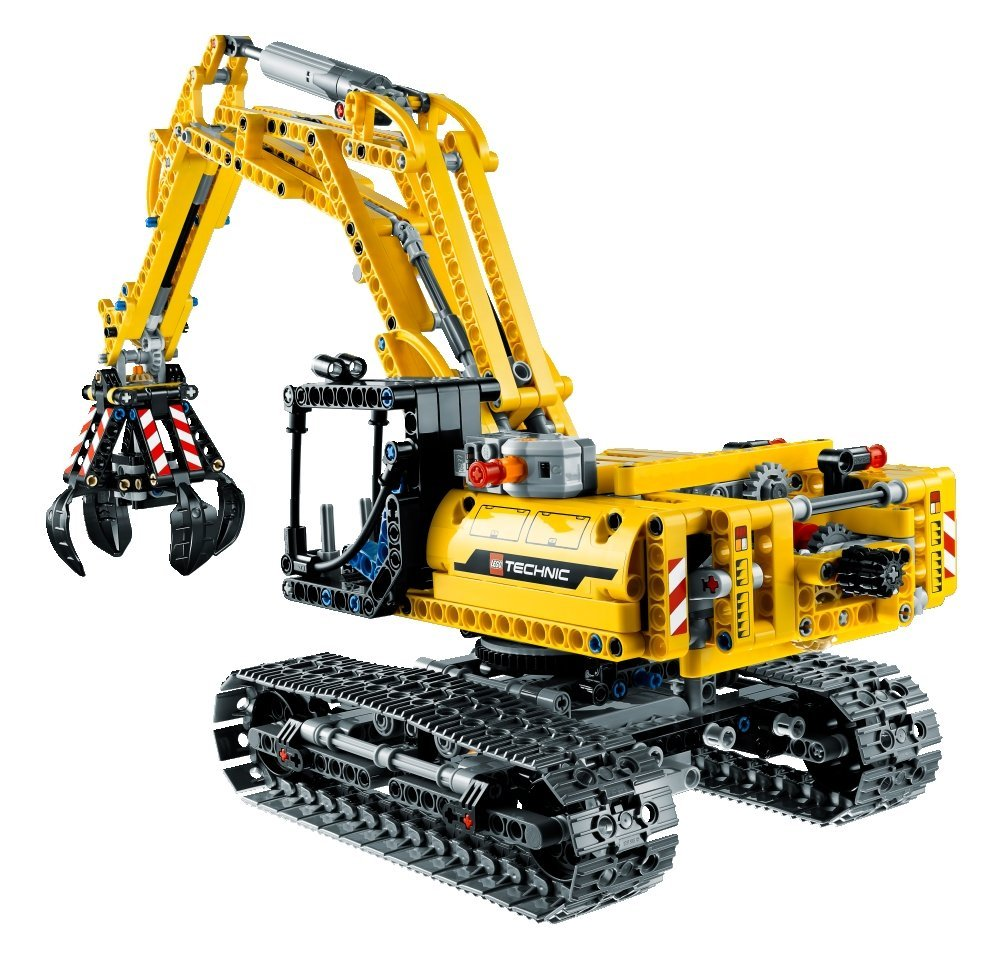 my lego style lego technic excavator 42006. Black Bedroom Furniture Sets. Home Design Ideas