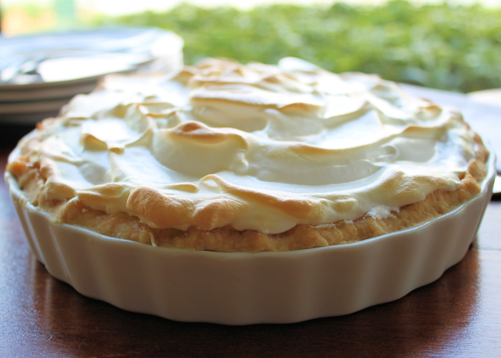 grew up having lemon curd meringue pie. The one they make at La ...