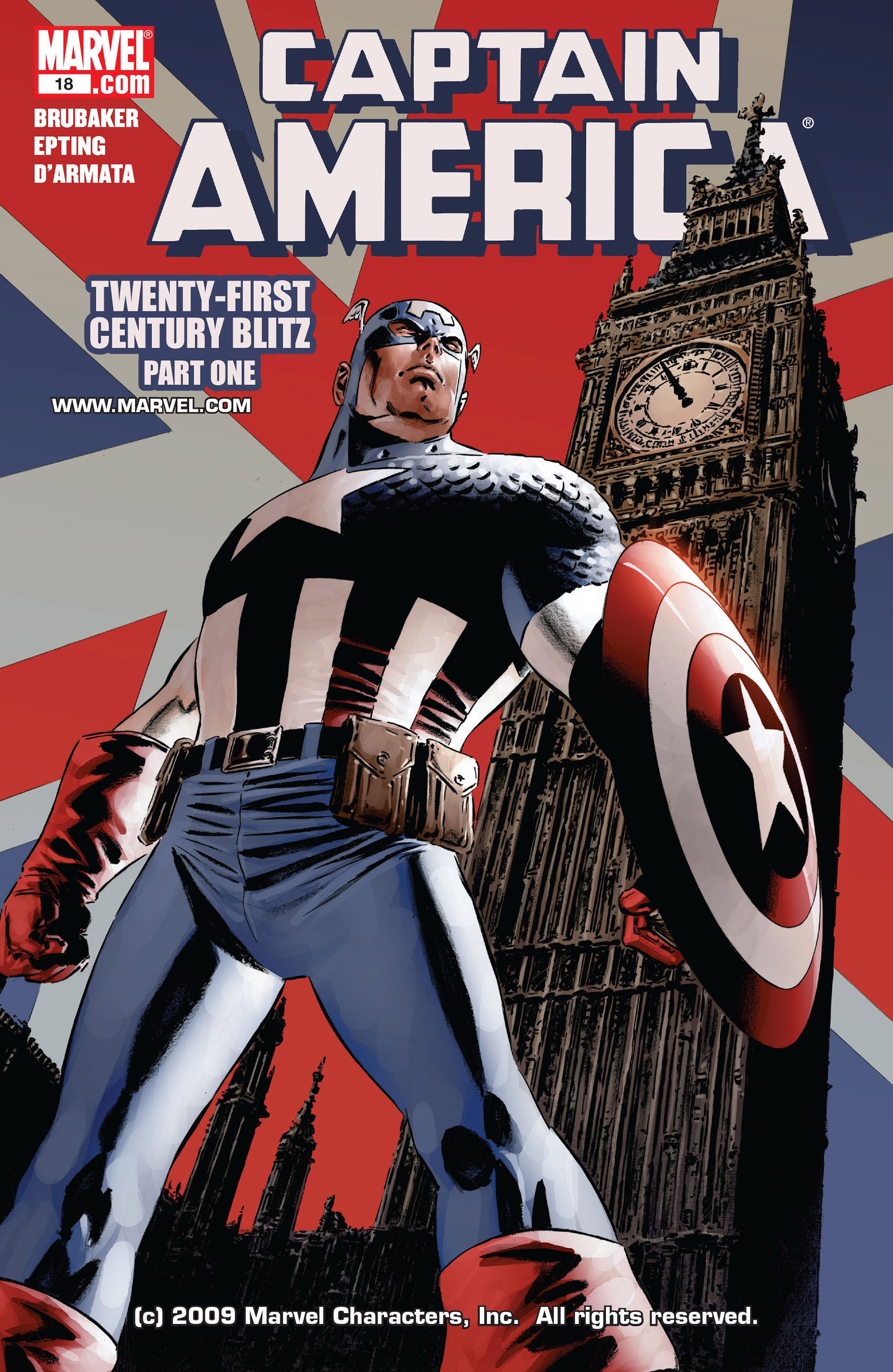 Captain America (2005) Issue #18 #18 - English 1