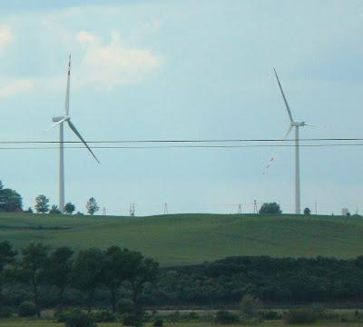 Wiatraki, elektrownia wiatrowa