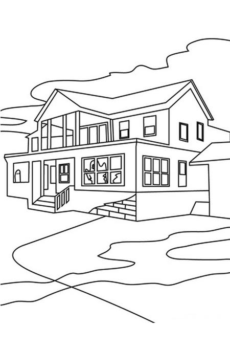 - Dibujar planos de casas ...