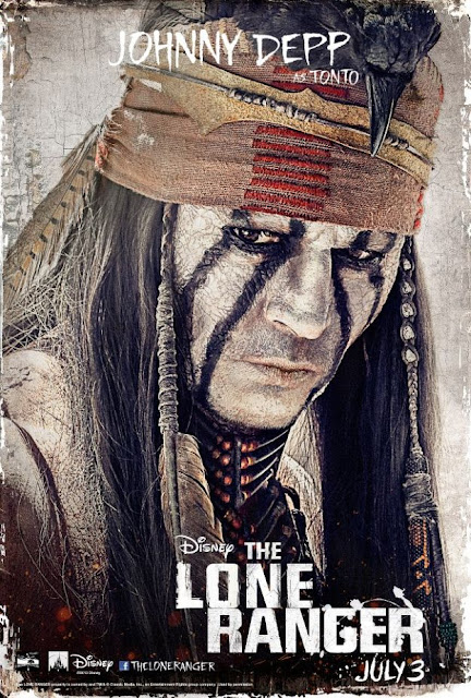 the lone ranger, johnny depp