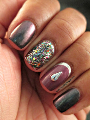 Born Pretty, drop studs, review, Julep, Blakely, Kylie, Sephora by OPI, Spark-tacular, Orly, Dazzle, nails, nial art, nail design, mani