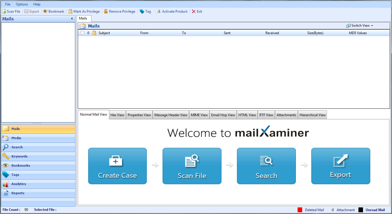 what makes mailxaminer a best in class email forensics tool