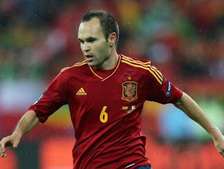 Andres Iniesta Wallpaper on Andres Iniesta Barcelona Wallpaper 2012   Wallpapers Pictures