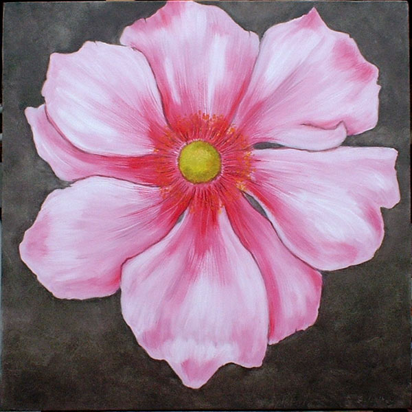 Flower art for Flower paintings on canvas