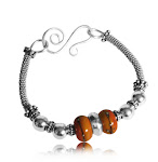 Warm Marmalade Bangle