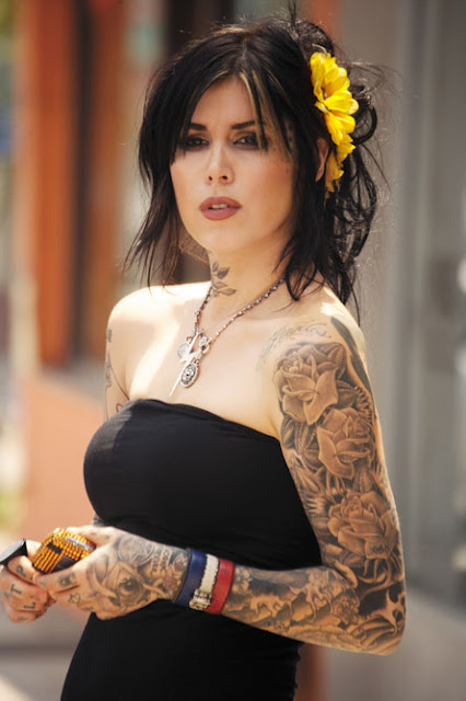 kat von d tattoos jesse james