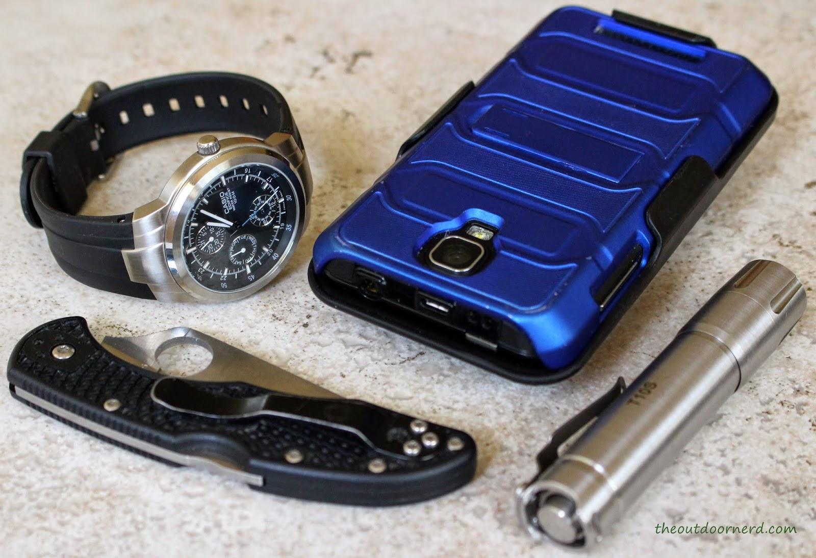Casio Men's EF305-1AV Edifice Watch Pocket Dump